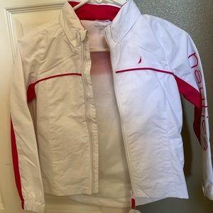 Girls Nautica lightweight jacket